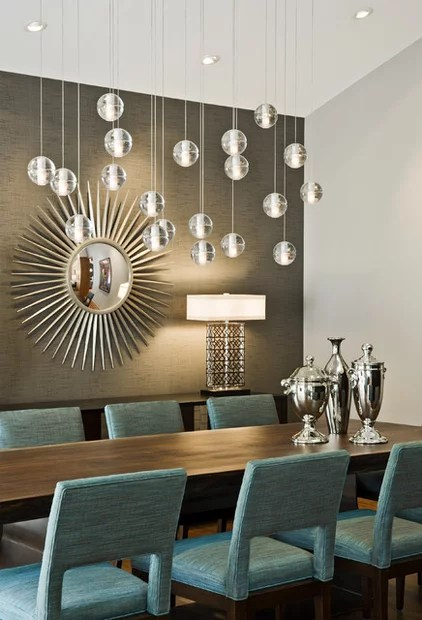 modern dining room by Peterssen/Keller Architecture