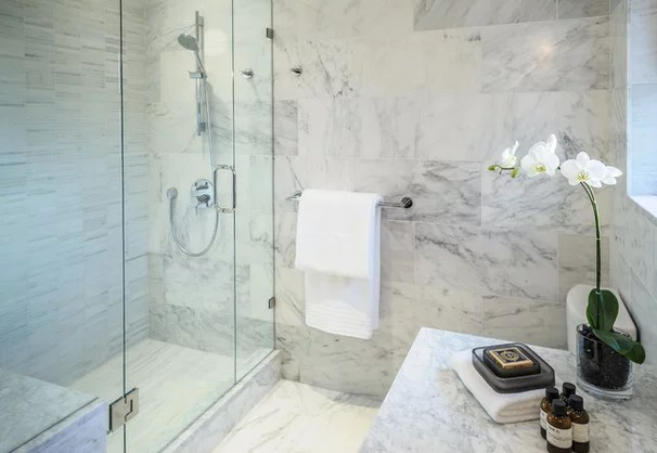 Convert Your Tub Space Into A Shower The Tiling And