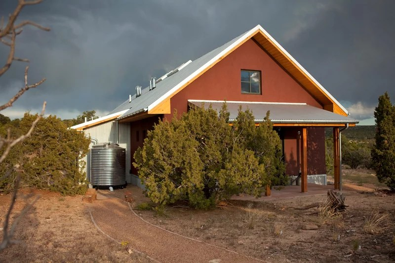 contemporary exterior by Palo Santo Designs LLC
