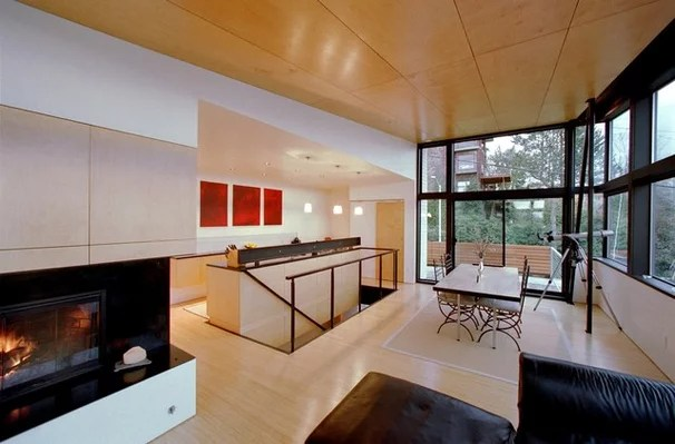 Modern Living Room by Eggleston Farkas Architects