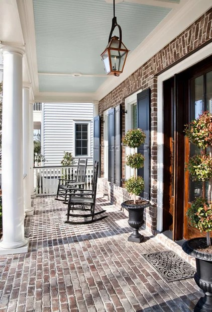 traditional porch by Jamison Howard