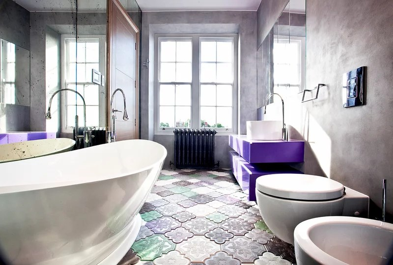 Contemporary Bathroom by Roselind Wilson Design