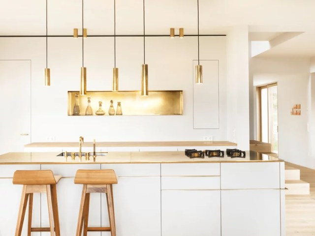 Contemporary Kitchen by ZEITRAUM