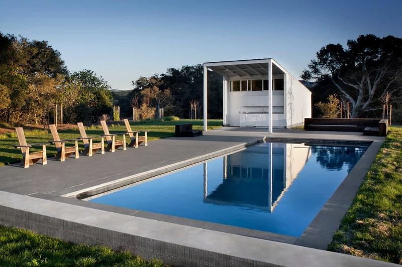 farmhouse pool by Turnbull Griffin Haesloop