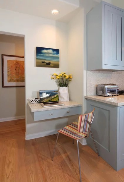 transitional kitchen by Sarah Barnard Design