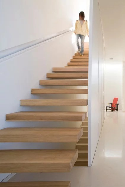 Modern Staircase by MarchDesign