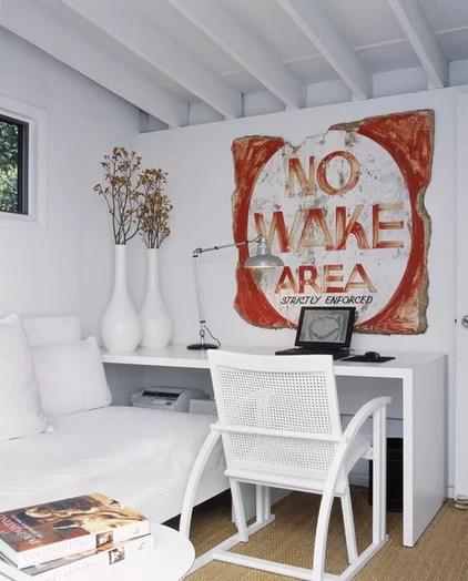 modern home office by Bruce Bierman Design