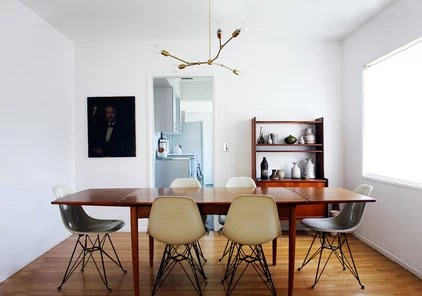 modern dining room by The Brick House