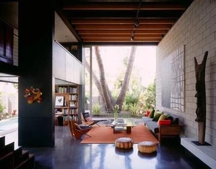modern living room [ Steven Ehrlich Architects ]