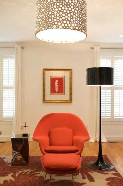 eclectic living room by Heather Garrett Design