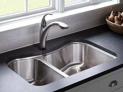 contemporary kitchen KOHLER: Staccato™ Kitchen Sinks: Kitchen: : Kitchen: New Products