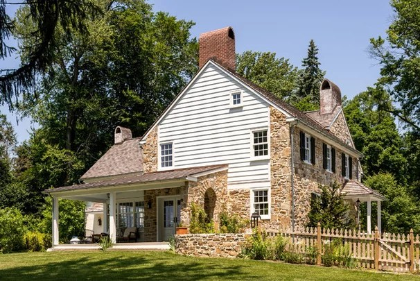 Farmhouse Exterior by Period Architecture Ltd.