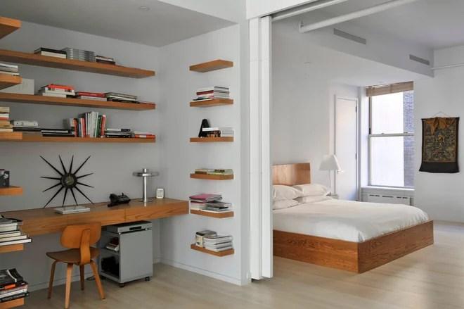 Modern Bedroom by BarlisWedlick Architects, Tribeca Studio