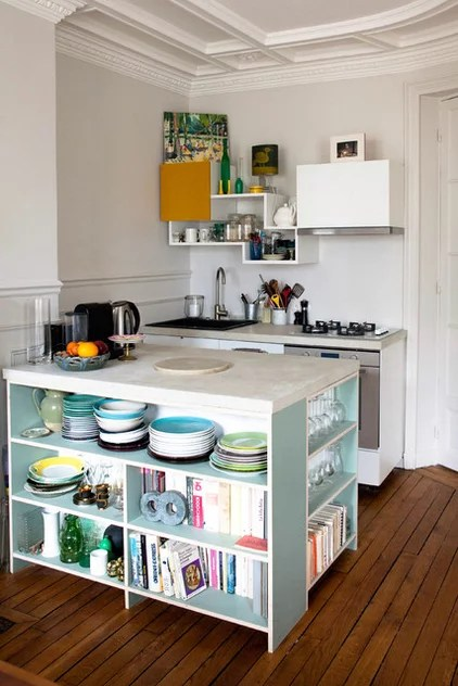 Contemporary Kitchen by Thibaut and Thewood