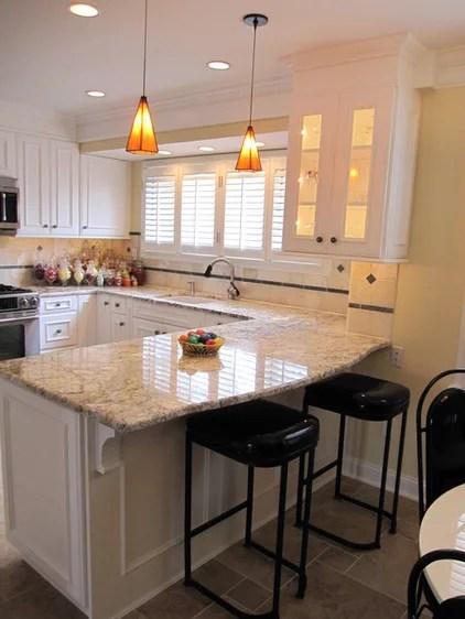 traditional kitchen by B & P Distinctive Renovations, LLC
