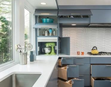 kitchen remodeling Midcentury Kitchen by Flavin Architects