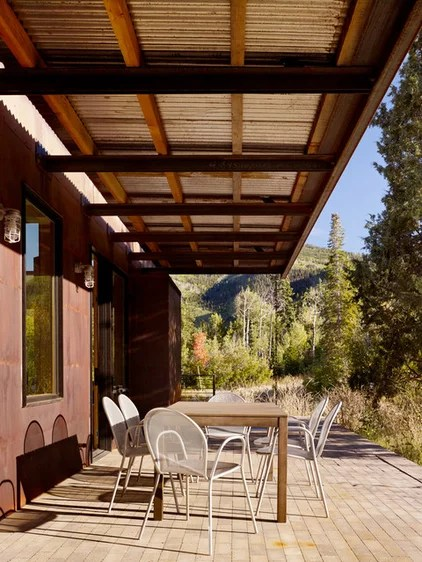 modern patio by Carney Logan Burke Architects