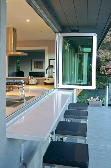 Contemporary Deck by Heather Merenda