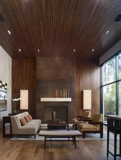 modern living room by Studio William Hefner