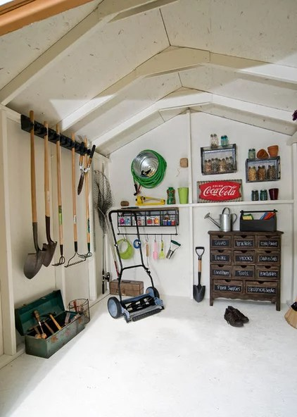 Traditional Garage And Shed by Backyard Buildings