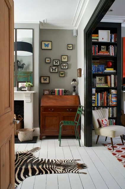 Eclectic Family Room by Turner Pocock