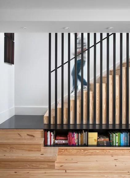 Farmhouse Staircase by Texas Construction Company