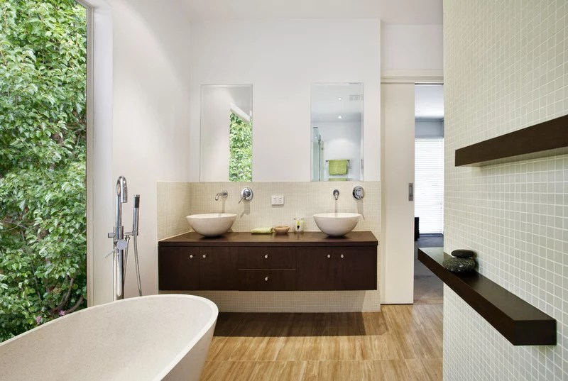Asian Bathroom by GIA Bathroom & Kitchen Renovations