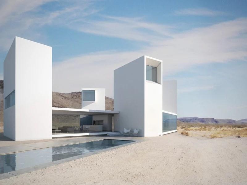 modern exterior by Edward Ogosta Architecture