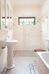 Traditional bathroom remodeling project