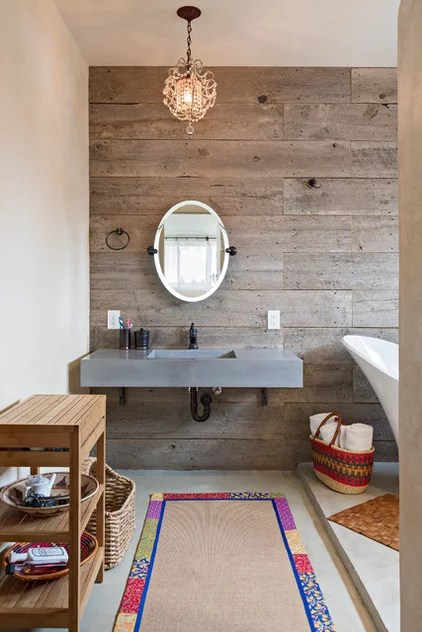 Contemporary Bathroom by Dane Cronin Photography
