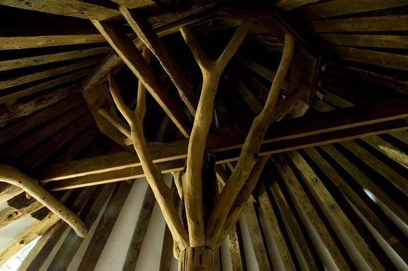 tropical  by Hugh Lofting Timber Framing, Inc.