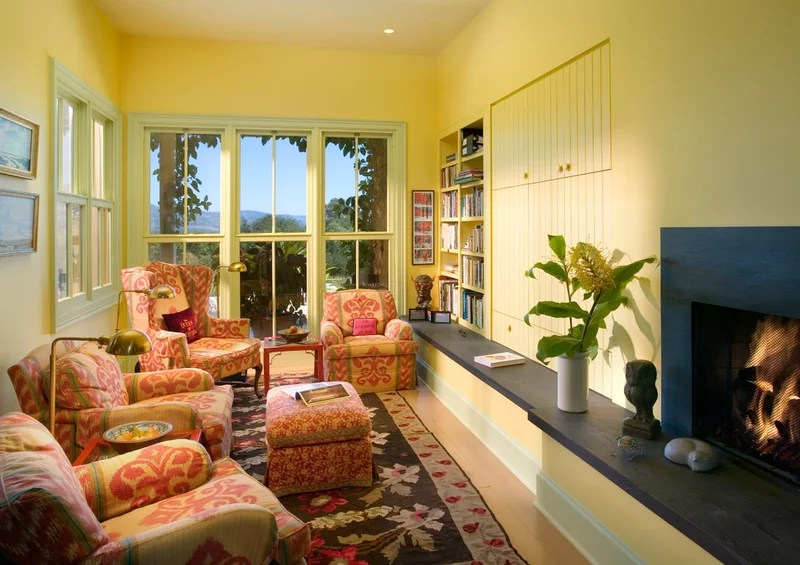 eclectic family room by Giffin & Crane General Contractors, Inc.