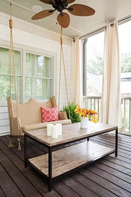 contemporary porch by TerraCotta Properties