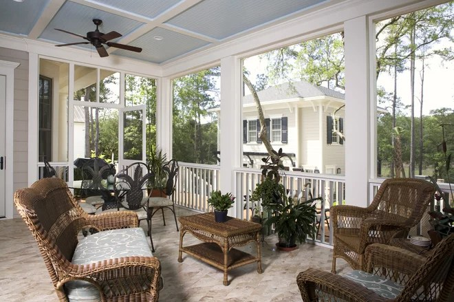 Screened Porch Ceiling Ideas