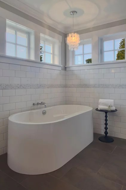 Traditional Bathroom by Richardson Homes Ltd