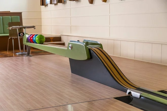 modern home gym by Fusion Bowling