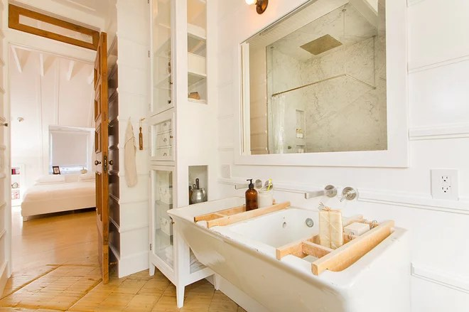 Eclectic Bathroom by thea home inc