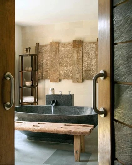 Asian Bathroom by Isabella Ginanneschi