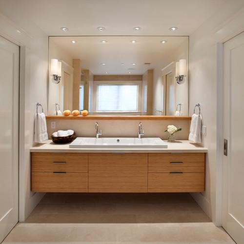 Modern classic modern bathroom