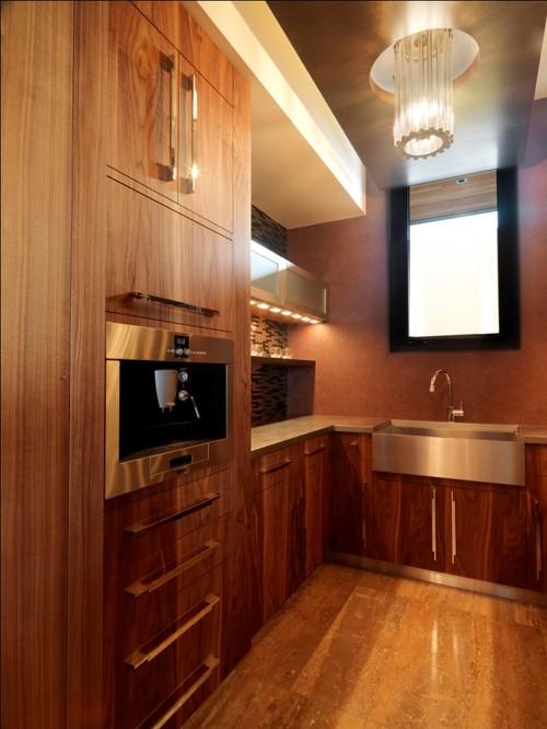 Quaker Bluff Residence modern kitchen