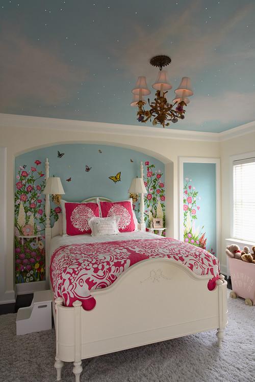 Little Girls Bedroom eclectic kids