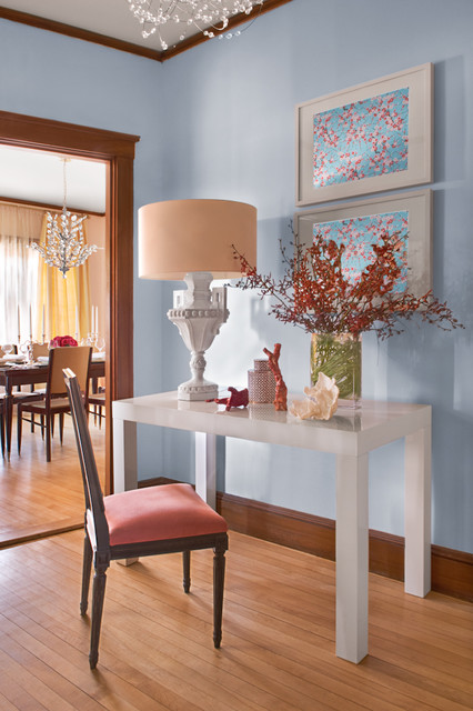 eclectic hall by Amanda L. Reid