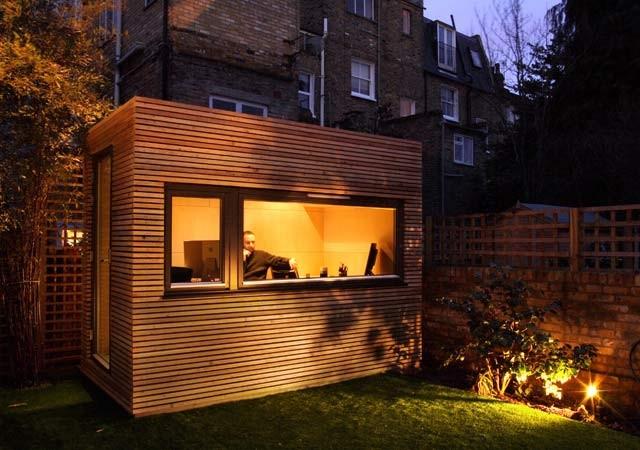contemporary prefab studios by Ecospace