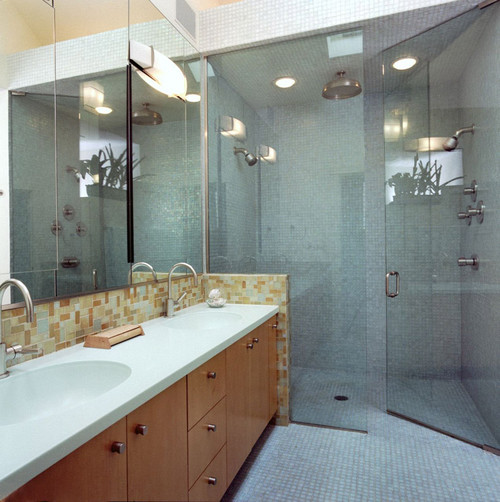 Nathan Kipnis Architects, Inc. contemporary bathroom