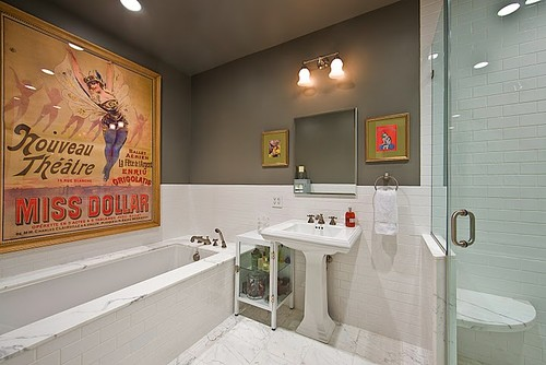 Soho Loft eclectic bathroom