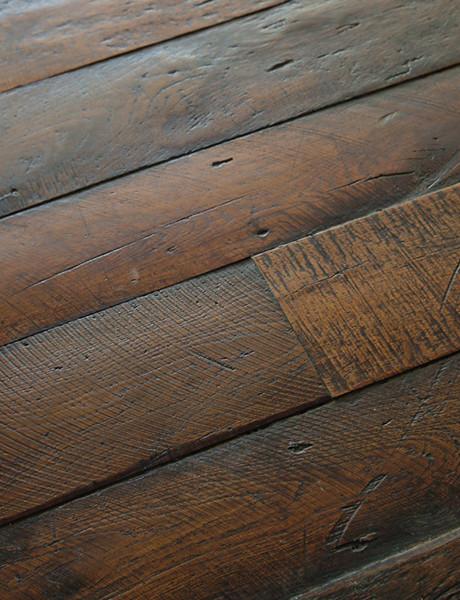 Antique French Oak Large Plank Wood Floors traditional wood flooring