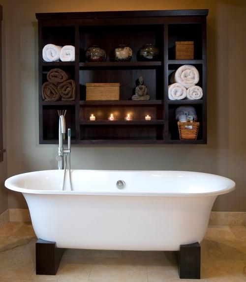 Balinese Influenced Bath asian bathroom