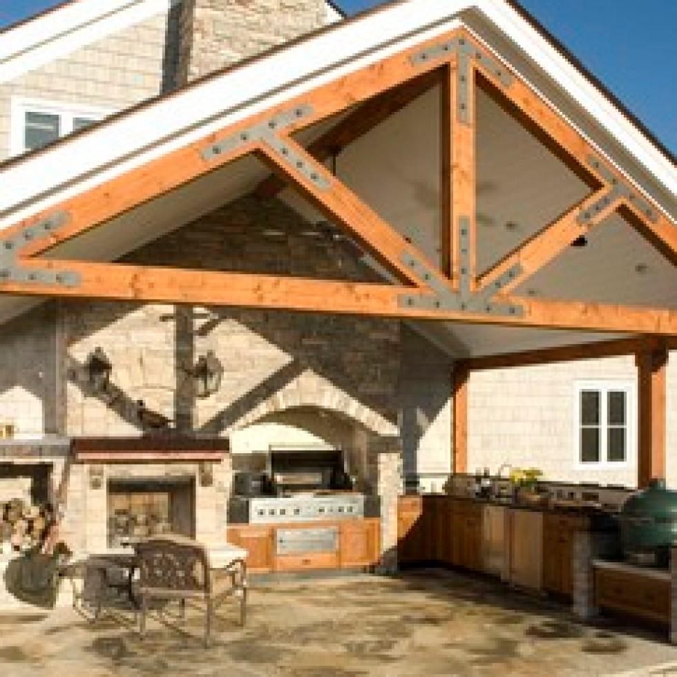Outdoor Kitchen Roof: Warner Stellian Appliance