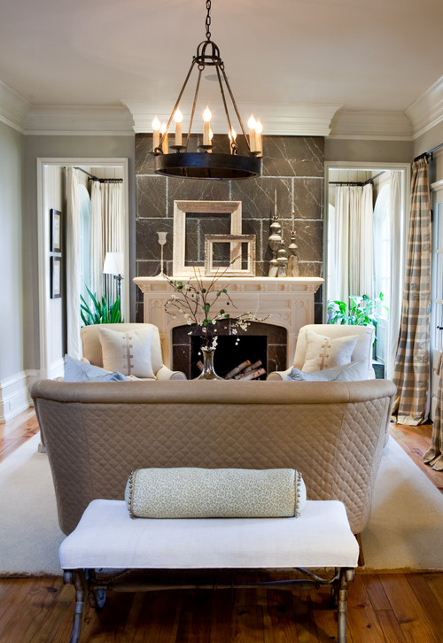 Sherry Hart traditional living room