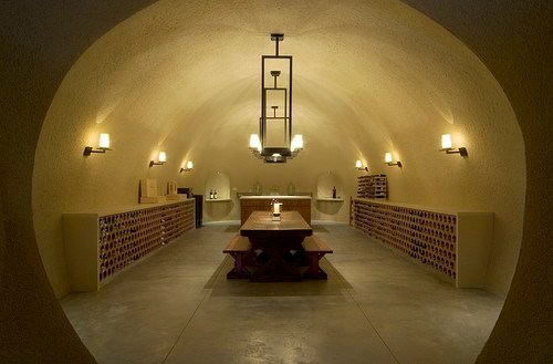 wine cellar by Taylor Lombardo Architects